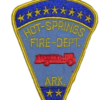 hot springs arkansas firefighter jobs