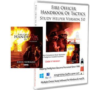 Fire Officer's Handbook Of Tactics 5th edition Study Software